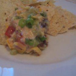 Tex Mex Layered Taco Dip recipe