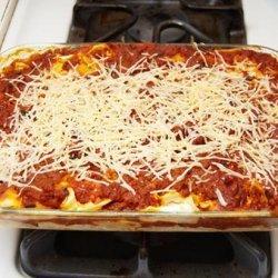 Egg Noodle Lasagna recipe