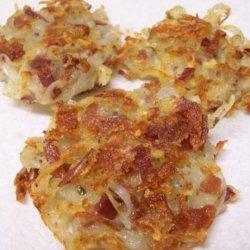 Potato Pancakes W/Katenspeck and Cheese (German) recipe