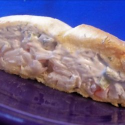 Crabmeat and Cream Cheese Bake recipe