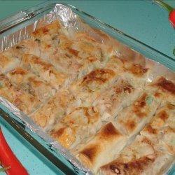 Chicken Egg Roll Enchiladas recipe