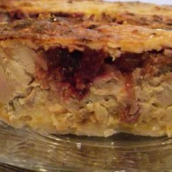 Turkey and Cranberry Pie recipe