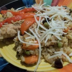 Arroz Con Pollo Chapina (Guatemalan Chicken and Rice) recipe