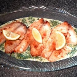 Uncle Bill's Sole Florentine With Spinach recipe