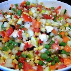 Dixie's Chopped Vegetable Salad recipe