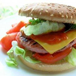 Bondi-Type Chicken Burger recipe