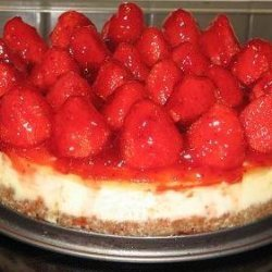 Strawberry Cream Cheese Cake recipe