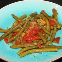 Braised Green Beans With Tomatoes recipe