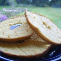 Seasoned Bagel Chips recipe