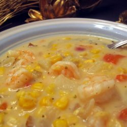 Seafood Corn Chowder recipe