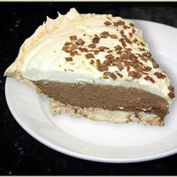German Chocolate Angel Pie II recipe