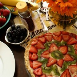 Fruit and Cream Pie II recipe