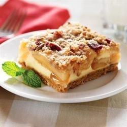 Harvest Apple Streusel Squares recipe