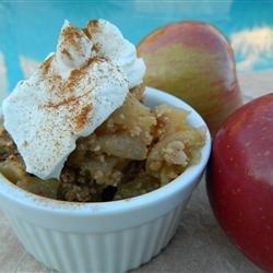 Minnesota Apple Crisp recipe