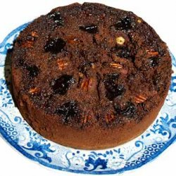 Prune Mocha Cake recipe