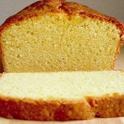 Buttermilk Pound Cake III recipe