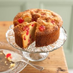 Cherry Almond Cake recipe