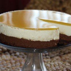 White Chocolate Mousse Cake recipe