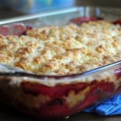 Nikki's Best Rhubarb Dessert Ever recipe