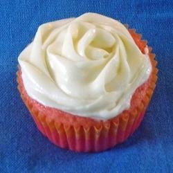 Strawberry Cupcakes with Lemon Zest Cream Cheese Icing recipe