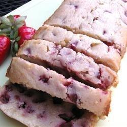 Amazing Strawberry Pound Cake recipe
