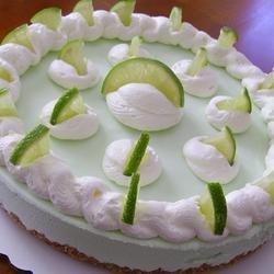 Frozen Margarita Pie recipe