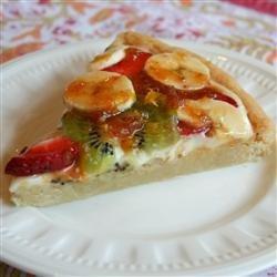 Simple Fruit Pizza recipe