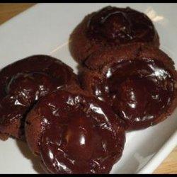 Chocolate Covered Cherry Cookies III recipe