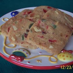 Fruit and Nut Shortbread recipe