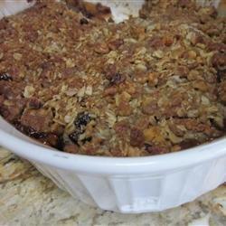 Apple Mincemeat Crumble recipe