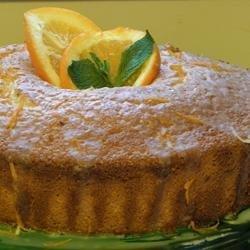 Orange Fluff Cake recipe