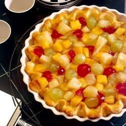 Fruit Cocktail Pie recipe