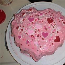 Valentine Heart Cake recipe