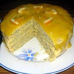 Poppy Seed Torte with Orange Glaze recipe