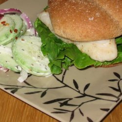 Catfish Sandwiches With Creole Mayonnaise recipe