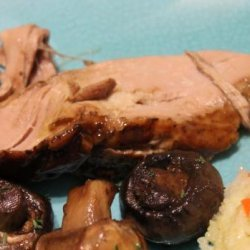 Brown Sugar and Balsamic Glazed Pork Loin recipe