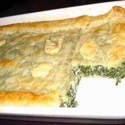 Spinach and Feta Puff Pie recipe