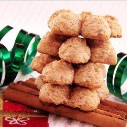 Pumpkin Spritz Cookies recipe