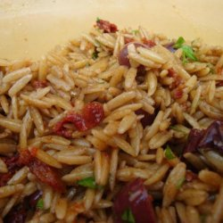 Orzo Salad With Sun-Dried Tomatoes recipe