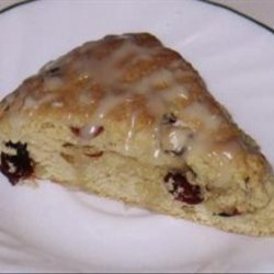 Cranberry Maple Nut Scones recipe