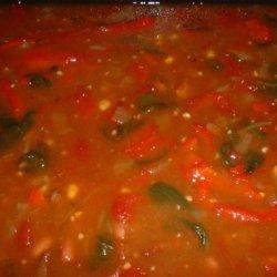 Beef Fajita Soup recipe
