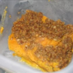 Sweet Potato Casserole With Pecan Streusel Topping recipe