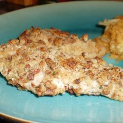 Seasoned Pecan Chicken Breasts recipe