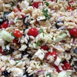 Perfect Greek Orzo Salad recipe