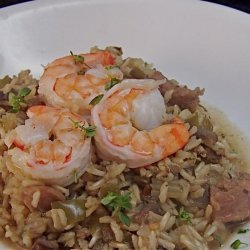 Dirty Rice With Sausage and Shrimp recipe