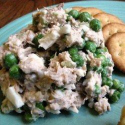 Tuna Pea Salad recipe