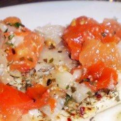 Delightful Cod in the Microwave recipe