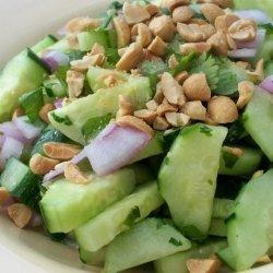 Thai Sweet-And-Sour Cucumber Salad recipe