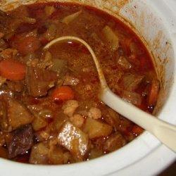 Crock Pot Spanish Inspired Beef Stew recipe
