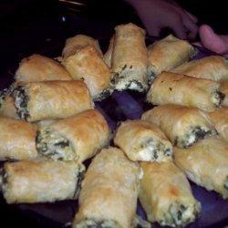 Mom's Spanakopita recipe